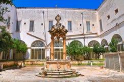 Church of St. Francesco. Fasano. Puglia. Italy. Stock Photography