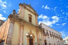 Church of St. Francesco. Fasano. Puglia. Italy. Stock Photo