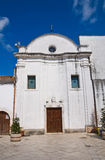Church of St. Francesco. Ischitella. Puglia. Italy. Stock Photography