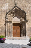 Church of St. Francesco. Lucera. Puglia. Italy. Stock Images