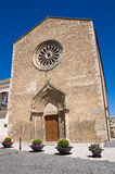 Church of St. Francesco. Lucera. Puglia. italy. Royalty Free Stock Photo