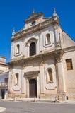 Church of St. Francesco. Manduria. Puglia. Italy. Stock Photos