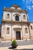 Church of St. Francesco. Manduria. Puglia. Italy. Stock Images