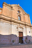 Church of St. Francesco. Monopoli. Puglia. Italy. Stock Image