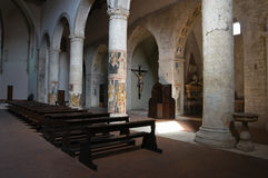 Church of St. Francesco. Narni. Umbria. Italy. Royalty Free Stock Photo