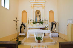 Church of St. Francesco. Rocca Imperiale. Calabria. Italy. Royalty Free Stock Image
