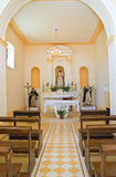 Church of St. Francesco. Rocca Imperiale. Calabria. Italy. Royalty Free Stock Images