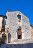 Church of St. Francesco. San Gemini. Umbria. Italy. Stock Photo