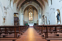 Church of St. Francesco. San Gemini. Umbria. Italy. Royalty Free Stock Images