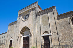 Church of St. Francesco. Tarquinia. Lazio. Italy. Royalty Free Stock Images
