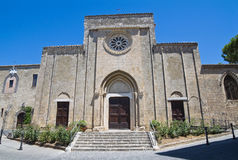 Church of St. Francesco. Tarquinia. Lazio. Italy. Stock Photography