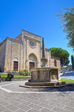 Church of St. Francesco. Tarquinia. Lazio. Italy. Royalty Free Stock Photography