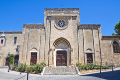Church of St. Francesco. Tarquinia. Lazio. Italy. Royalty Free Stock Photos
