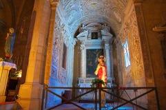 Church of St. Francesco. Tarquinia. Lazio. Italy. Stock Images