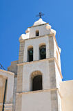Church of St. Francesco. Vieste. Puglia. Italy. Royalty Free Stock Image