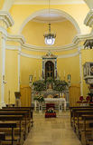 Church of St. Francesco. Viggianello. Basilicata. Italy. Royalty Free Stock Images
