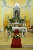 Church of St. Francesco. Viggianello. Basilicata. Italy. Stock Photo