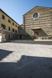 Church st. francis arezzo tuscany italy europe Stock Images