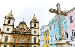 Church of St. Francis of Assis in Salvador, Bahia, Brazil Stock Image