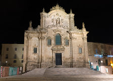 Church of St. Francis of Assisi church - Matera - It Stock Photography