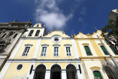 Church of St. Francis of Assisi in the Largo Sao Francisco Royalty Free Stock Image
