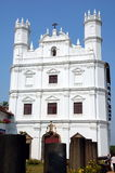 Church of St. Francis of Assisi. Old Goa, India Royalty Free Stock Images