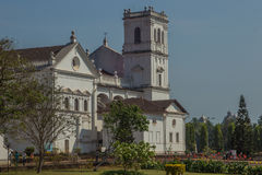 Church of St. Francis of Assisi, old Goa, India Royalty Free Stock Images