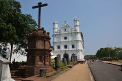 Church of St. Francis Of Assisi. Old Goa, India - October 22, 2015 - Church of St. Francis Of Assisi Royalty Free Stock Images
