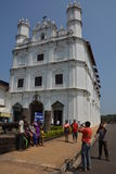 Church of St. Francis Of Assisi. Old Goa, India - October 22, 2015 - Church of St. Francis Of Assisi Royalty Free Stock Image