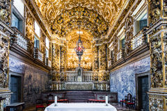 Church of St. Francis of Assisi in Salvador, Bahia, Brazil.  Royalty Free Stock Images