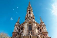 Church of St. Francis de Sales. Stock Image