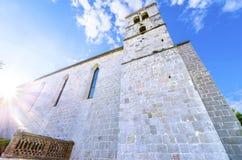 Church of St Francis, Krk, Croatia Royalty Free Stock Photo