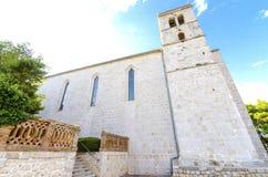 Church of St Francis, Krk, Croatia Royalty Free Stock Images