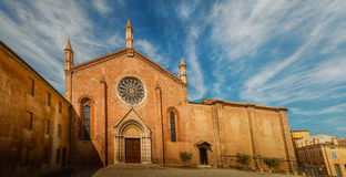 Church of St. Francis in Mantua Royalty Free Stock Photo