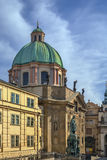 Church of St Francis Seraph, Prague Stock Images