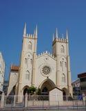 Church of St. Francis Xavier, Malacca City, Malaysia Stock Photo