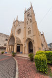 Church of St. Francis Xavier in Malacca,  Malaysia Royalty Free Stock Images