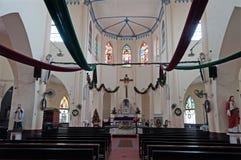 Church of St. Francis Xavier Stock Photo