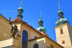Church St. Gallus, Prague, Czech Republic Stock Photos