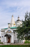 Church of St. George with a belfry and Ascension. Museum Kolomenskoye, Moscow Stock Photos