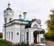 Church of St. George with a belfry. Museum-Reserve Kolomenskoye Stock Images