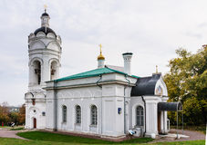 Church of St. George with a belfry. Museum-Reserve Kolomenskoye Royalty Free Stock Images