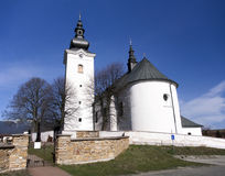 Church of St. George in Bobrovec, Slovakia Stock Photos
