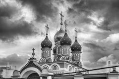 Church of St. George in central Moscow, Russia Royalty Free Stock Photography