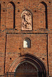 Church of St. George (Kirche Friedland). Pravdinsk, Kaliningrad Royalty Free Stock Photos