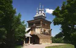 The Church of St. George in Kolomenskoye Royalty Free Stock Photo