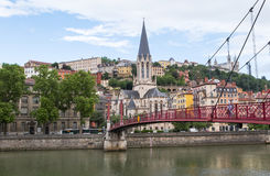 Church of St George, Lyon Royalty Free Stock Photography