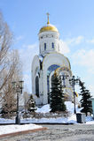 Church of St. George  in Moscow, Russia Stock Photography