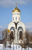 Church of St. George  in Moscow, Russia Stock Photo