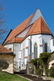 Church of St. George. Parish Church of St. George in the village of Svaty Jur, Slovakia Stock Image